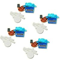 4pcs 6g Mini Micro RC Servo for rc helicopter airplane boat   I