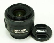 Nikon Nikkor AF-S 35 mm f1.8 G Obiettivo DX SWM-CONDIZIONI ECCELLENTI