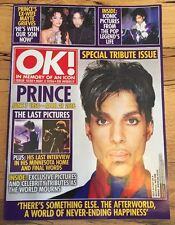 PRINCE OK MAGAZINE-IN MEMORY OF AN ICON-SPECIAL TRIBUTE ISSUE.NEW!