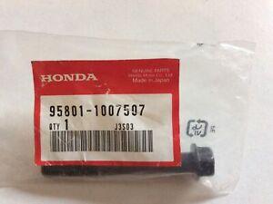 Nos Honda Flange Bolt 95801-1007507