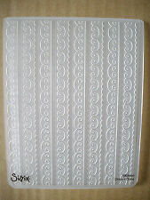 *Scallop & Loop Ribbon* Embossing Folder - Compatible with Cuttlebug & Sizzix