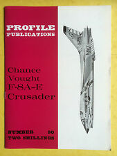 AIRCRAFT Profile Publications No.90 - The Vought F-8A-E Crusader