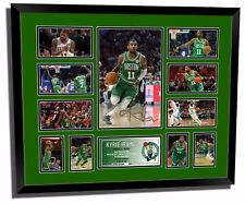 KYRIE IRVING 2017 BOSTON CELTICS SIGNED LIMITED EDITION FRAMED MEMORABILIA
