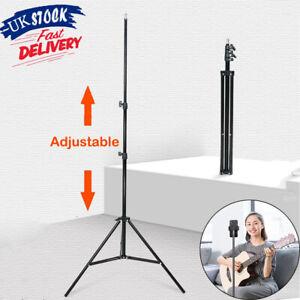 Adjustable Tripod Stand Mount for Ring Light Studio Photo Video Phone Holder UK