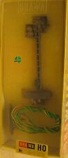 Brawa HO 8708 Vorsignal mit Stecksockel , mit Einbau-Anleitung, ohne Zugbeeinflu