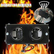 600W 12V Car Truck Fan Heater Defroster Demister Heating Warmer Windscreen Quiet