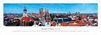 München Munich Germany Deutschland,Panorama Bild Print Druck,100cm,