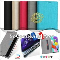 Etui coque housse VILI DMX Cuir PU Leather Stand Wallet Case Cover OPPO Reno2