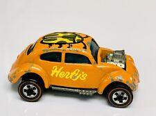 Hot Wheels Redline Herfys Promo Orange Custom Volkswagen Bug