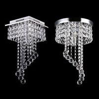 Elegant Crystal Chandelier Ceiling LED Light Lamp Pendant Lighting Fixture Decor