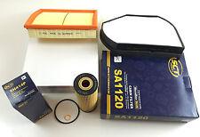 Set FILTRO filtri olio filtro aria dell'abitacolo FILTRO SLK r170 200 - 230 + COMPRESSORE