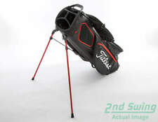 Mint Titleist Players 4 Plus Black/White/Red Stand Bag