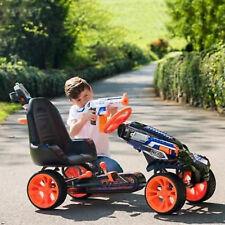 Nerf BATTAGLIA Racer Go Kart a pedali giro su ruote regolabile Equitazione Bambini Car Racing