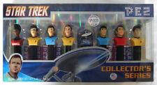 NEW Star Trek PEZ Dispensers TOS Kirk Spock McCoy USS Enterprise Sealed Candy LE
