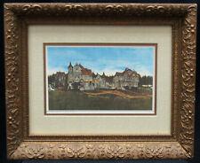 """J. C. Blackley """"Country Estate"""" Signed Framed Matted Print Ltd Ed 77/600 - B0531"""