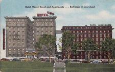 Postcard Hotel Mount Royal + Apartments Baltimore MD