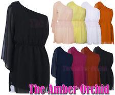Chiffon Patternless Boho, Hippie Dresses for Women