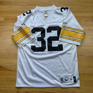 Franco Harris Pittsburgh Steelers Authentic Throwback Vintage Reebok Jersey #32