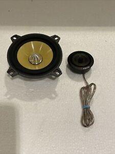 """1 FOCAL  K2 4"""" 4KSLIM & 1 TK-242 CAR TWEETER FROM K2 POWER"""