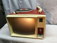 Vintage GE Picture Sound Record Player Working Show'n Tell Photo Viewer Childs R