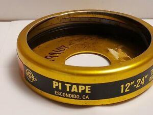 """PI TAPE PERIPHERY 12"""" - 24"""" QUALITY INSPECTION 1/4 INCH WIDE TAPE MEASURE T24"""
