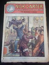 FUMETTO NICK CARTER IL GRAN POLIZIOTTO AMERICANO 1930 FASCICOLO N°167 IK-11-177