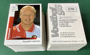 396 x Panini Voetbal 96 1996 Football Stickers # Mint Condition