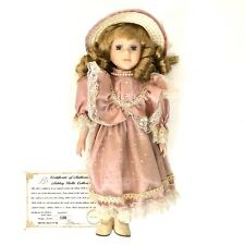Ashley Belle Porcelain Collectible Doll Florence #1106 with COA