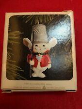 1978 Vtg Hallmark Thimble Mouse Ornament #1 in Thimble Series