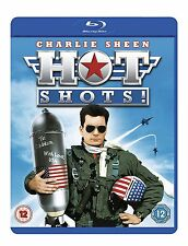 Hot Shots! [Blu-ray Movie, Charlie Sheen, Comedy, Winning, USA, Region Free] NEW