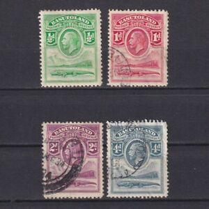 BASUTOLAND 1933, SG# 1-5, part set, MH/Used