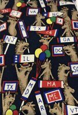 Alynn Neckwear DEMOCRATS 100% Silk Tie Election Night Rally Convention