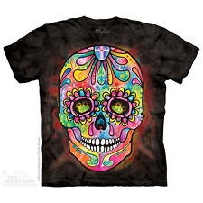 Day of Dead T Shirt Adult Unisex The Mountain Small 1039170