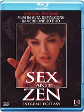 Sex And Zen - Extreme Ecstasy ( Blu-Ray 3D + Blu-Ray ) Special Edition  NUOVO