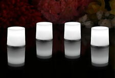12 White Mood Lights - Decorative LED Lights for Party Event Festival