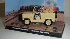 007 JAMES BOND THE LIVING DAYLIGHTS LAND ROVER LIGHTWEIGHT 1/43 Die-Cast Car.