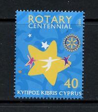 Q061   Cyprus  2005  Rotary    1v.  MNH