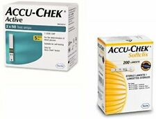 Accu Chek Active Test Strips, 100 Strips With 100 Lancets