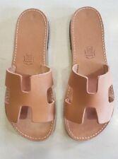 Ancient Greek Handmade Women's Sandals Genuine Leather