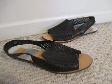Dolce Vita Lisco Peep Toe Black Sandals Shoes Size 10 M