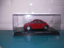 01.07.18.1 Detail Cars Volkswagen Beetle Concept 1 rouge 1/43