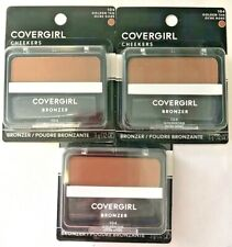 3 Covergirl Cheekers Bronzer 104 Golden Tan A Sun Kissed Glow 12 0z