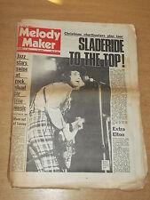 MELODY MAKER DECEMBER 15 1973 SLADE ELTON JOHN KEITH MOON JAZZ