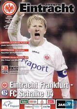Unsere EINTRACHT + 08.12.2007 + Frankfurt vs. FC Schalke 04 + Programm +