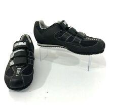 Pearl Izumi X-Road Shoes Men's 43. All Road Cycling 3-Strap Black Silver