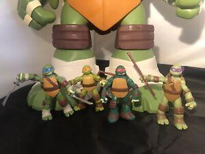 """Teenage Mutant Ninja Turtles Large 24"""" Playset With Set Of Figures"""