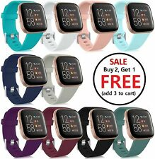 Replacement Silicone Rubber Band Strap Wristband For Fitbit Versa 1 2 Lite Watch