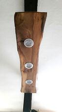 Deckenlampe Holz Hängelampe  rustikal Led  Vintage Set Leuchte Wildeiche