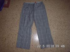Hose Gr. 34 Kariert Street one Model Basti 7/8 TOP