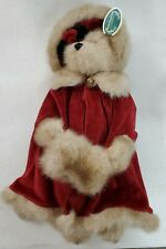 """2001 Bearington Collection Missy Mistletoe 16"""" 1168 With Tags Retired"""